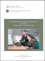 ECTS Information Package - Course...